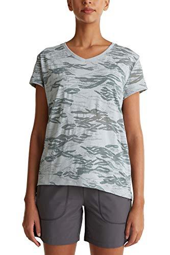 ESPRIT Sports Shirt mit Ausbrenner-Dessin