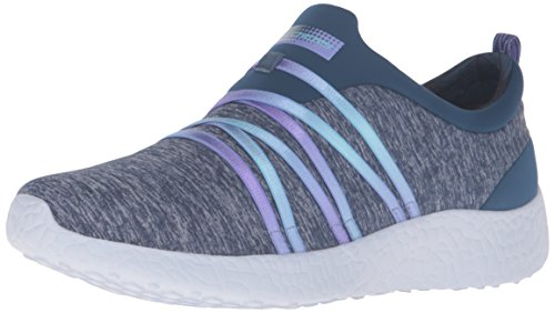 Skechers Damen SK12741 Burst Alter Ego Slip On Trainers (36 EU) (Marineblau)