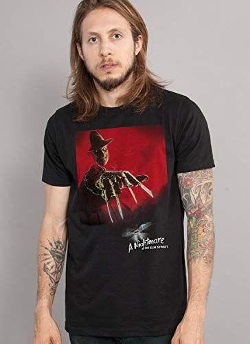 Camiseta A Hora do Pesadelo Freddy Krueger Masculina