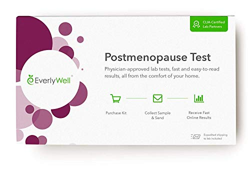 Everlywell Postmenopause Test - At-Home Collection Kit -...