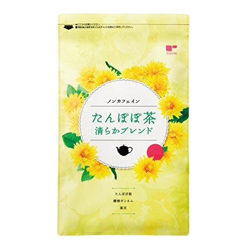 ノンカフェイン たんぽぽ茶 清らかブレンド カップ用 ティーバッグ 30個入 ティーライフ