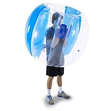 Holleyweb Bumper Balls Zorb Balls 4' Inflatable Bubble Soccer Ball for Adults and Kids (Only 1Blue)
