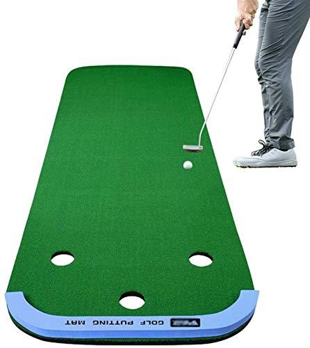 BAODI Alfombra de Entrenamiento de Golf El Entrenador de Golf se Puede Usar una Manta de Gran práctica para la Oficina/Sala de recepción/terraza