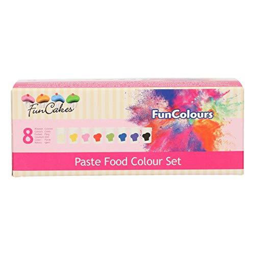 Colorante Alimentario En Pasta Negro Marca FunCakes