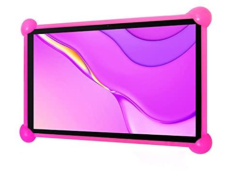 Funda Tablet 8 Pulgadas Universal Silicona Valida para Todas Las Tablets pc del Mercado de 8' Funda Tablet Universal 8 Pulgadas Fundas Tablet 8 Pulgadas universales (Rosa)