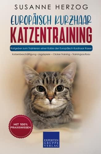 Europäisch Kurzhaar Katzentraining - Ratgeber zum Trainieren einer Katze der Europäisch Kurzhaar Rasse: Katzenbeschäftigung – Jagdspiele – Clicker-Training – Trainingsaufbau