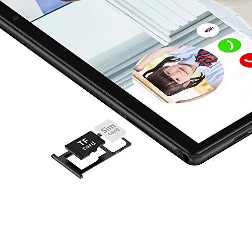 TECLAST M40 Tablet 10 Zoll, Android 10 Tablett PC Octa Core, 6GB RAM 128GB ROM, 1920 x 1200 IPS, 4G LTE + WiFi Tablets, Dual-SIM/SD, 5MP + 8MP Dual-Kamera, Typ C, GPS, Bluetooth 5,0, 6000mAh Akku