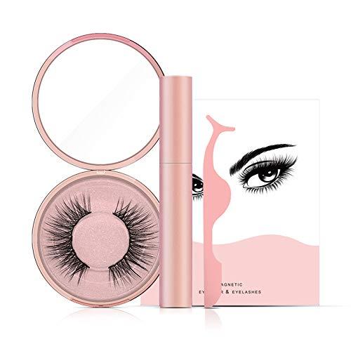 BestPick Magnetic Eyeliner Lashes, Magnetic Eyeliner Kit De Pestañas Magnéticas,Delineador De Ojos De Larga Duración Impermeable, Delineador De Ojos Magnético Pestañas magneticas(AD811)