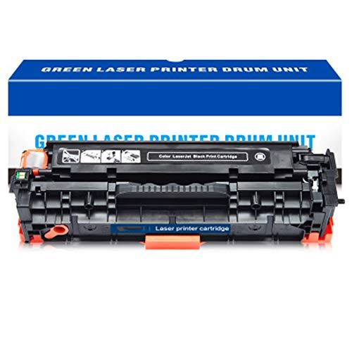 AXAX Cartucho de tóner de repuesto compatible para HP CC530A para impresoras HP Color Laserjet CM2320N 2320NF 2320FXI CP2025 2025N 2025DN 2025x Impresoras HD Duradero, negro