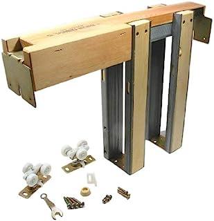 "Johnson Hardware 153068PF 153068 Commercial Grade Pocket Door Frame (36"" x 80""), Wood"