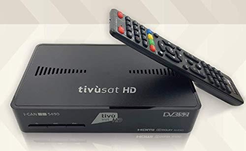 Tivùsat - Decoder digitale satellitare TIVUSAT i-CAN S490 HD