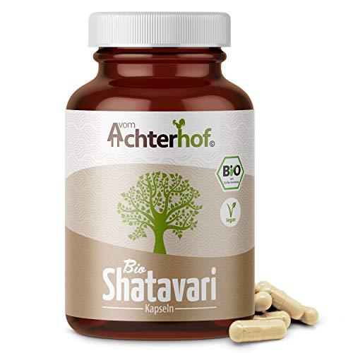 Shatavari Kapseln Bio | 160 Kapseln | 500mg pro Kapsel | laborgeprüft | Ayurveda für Frauen | vegan