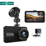 【2019 New】 Apexcam Dashcam Front und Rück Lens Fahr Recorder 3-Zoll-IPS 1080P Ultra HD 170° Weitwinkel Auto Kamera G-Sensor WDR Loop-Aufnahme DVR Parkmonitor Nachtsicht