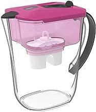 TKN Pro 3.5L Pitcher Water Filter. FDA Food Grade, BPA Free, NSF Certified. (Pink)