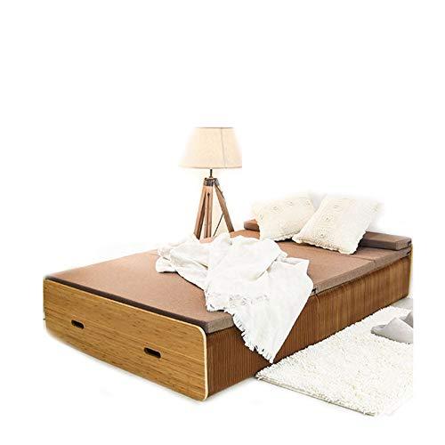 TWW Sofá Cama Invisible Multifuncional Cama Plegable Plegable 1,5 Cama Doble 1,2 M Muebles De Apartamento Pequeño para El Hogar,A