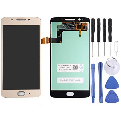 YIHUI Repare Repuestos Pantalla LCD y ensamblaje Completo del digitalizador for Motorola Moto G5 (Negro) Partes de refacción (Color : Gold)