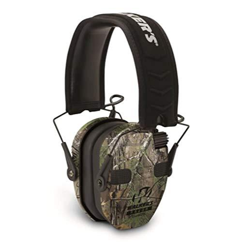 Walker's Razor Slim Electronic Quad Earmuff 23Db/Realtree Xtra Camo