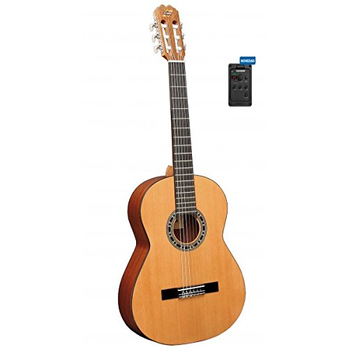 Admira (Malaga) Electrificada (Pre-Amp:Fishman Classic III .) Guitarra clásica española