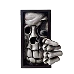 Attractive and Eyecatching: The face bookend looks better than the picture, and the messy hair of it really makes it the center of attention. It is suitable for home and this kind of decoration will surprise guests. Perfect Details: The face bookend ...