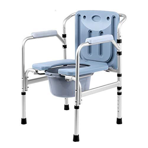 Commode Chair ALY® Medizinischer Toilettenstuhl, Extra Breiter Toilettensitz, Zusätzlicher Duschstuhl, 180 Kg
