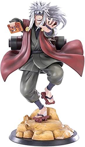 Figura de anime Naruto Shippuden Anime Jiraiya Gama Sennin Figma Muñeca de acción Juguete coleccionable Decoración Juguete Anime Animes Modelo de Personaje
