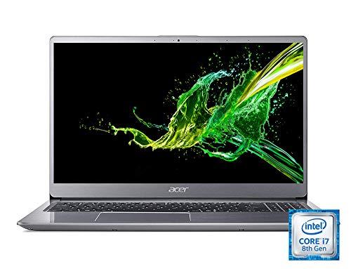 Acer Swift 3 (SF315-52G-80P0) 39,6 cm (15,6 Zoll Ultra-HD IPS matt) Ultrabook (Intel Core i7-8550U, 16GB RAM, 1.000GB HDD, 512GB PCIe SSD, NVIDIA GeForce MX150, Win 10 Home) silber