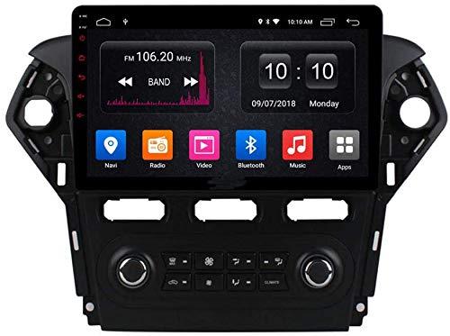 AEBDF Navegación GPS de Android para Ford Mondeo 2011-2012, Radio Estéreo Coche Player Multimedia, Satch Sat System SYC 4G WiFi,4core 4G+WiFi 1+32G