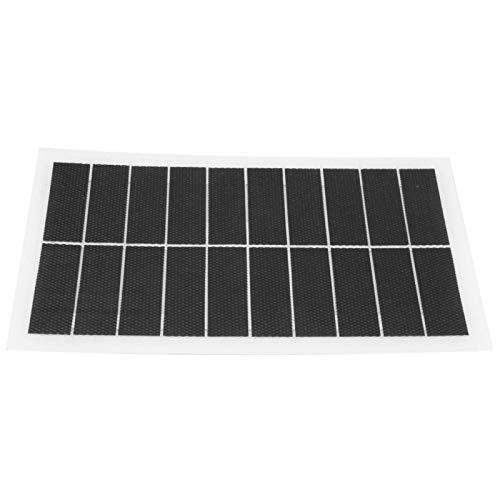 DAUERHAFT Panel de energía Solar de 7W 10V liviano para Todos los pequeños electrodomésticos para semáforos, Luces para el hogar para semáforos, Luces para el hogar, Ventiladores eléctricos