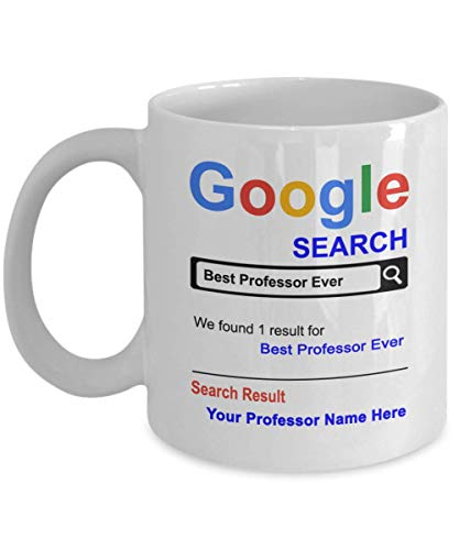 SpreadPassion Personalized Professor Coffee Mug - 11 oz Coffee Cup