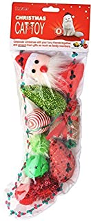 BINGPET Christmas Cat Toys Variety Pack - for Kitty 9 Pieces
