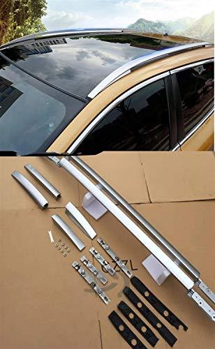 DSSQABR-11 Portaequipajes para Coches Ajuste For Nissan Qashqai J11 2014 2015 2016 Barra De Techo Rieles Laterales Barras Portaequipajes