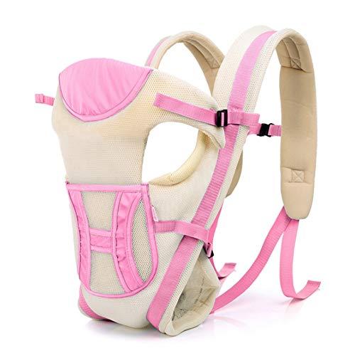 SHIQUNC 360 ° Allround atmungsaktive Multifunktions-Babytrage, pink