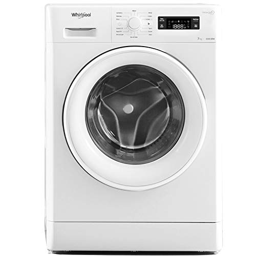 Whirlpool 7 kg Fully-Automatic Front Loading Washing Machine (Fresh Care 7110, White, Inbuilt Heater)