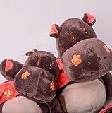 Decolores   Peluches Térmicos   Peluche de Hipopótamo   Aporta Sensación de Frío y Calor  ...