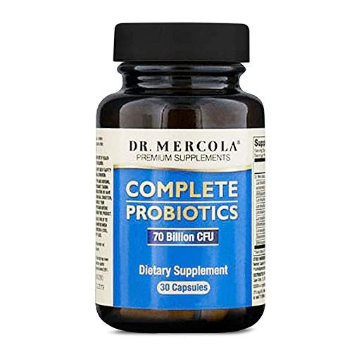 Dr Mercola Complete Probiotics 70 billion CFU per 2 capsules (30 Capsules)
