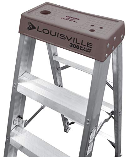 Louisville Ladder AS1020 Step Ladder, 20-Foot