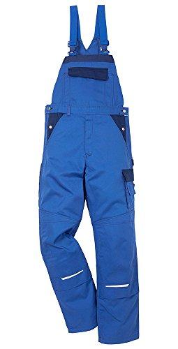 Kansas Icon Arbeitshosen Latzhosen Service Industrie 2-873, Farbe:kornblau/marine;Größe:50