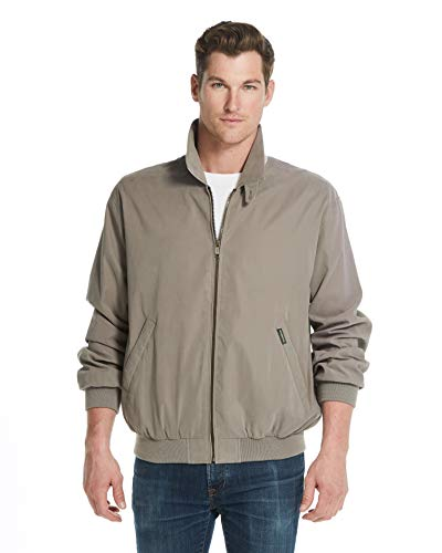 Weatherproof Original Mens Golf Jacket (Mens Windbreaker) Classic Mens Light Jacket (Large, Willow)