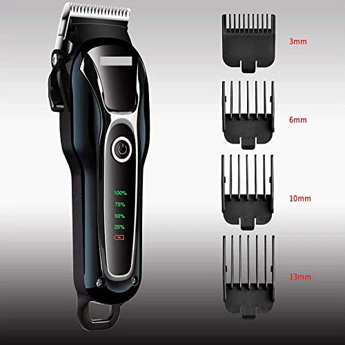 JAYVEER ENTERPRISE™ Pet Cordless and Rechargeable Trimmer Dog Hair Clippers for Grooming Kit Small Dogs Supplies Profesional Cat Shaver Noiseless Trimmers Tool for Medium Large Cats Animals with Battery