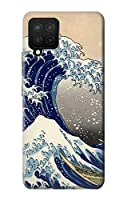JP2389A12 葛飾北斎 神奈川沖浪裏 Katsushika Hokusai The Great Wave off Kanagawa Samsung Galaxy A12 ケース