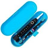 Custodia da viaggio per spazzolino elettrico in plastica per serie Fairywill, colore: blu