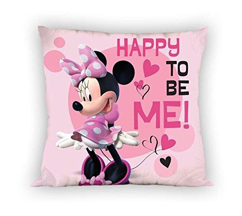 EUROSWAN - Set coperta in pile Minnie + cuscino Minnie 35 cm