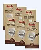 Caffè Quarta Cialde Aroma Intenso. N. 6 confezioni da 18 cialde. Caffè italiano pugliese salentino prodotto e confezionato in Salento. Original Italian coffee made in Salento Apulia.