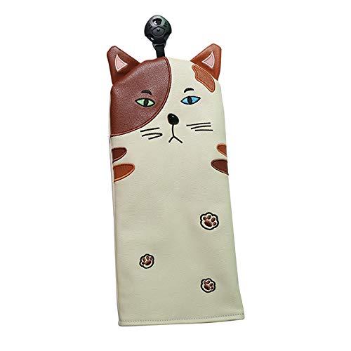 Hellery PU Golf Cat Kopfbedeckungskappe Passend für Fairway FW UT Golf Club - für UT, 26x 11,5 cm