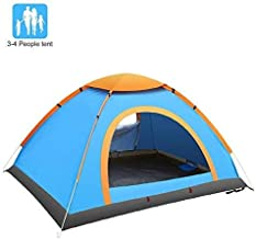 Gluckluz Camping Tent 2 4 Person Family Tents Dome Tent Waterproof Sleeping Bag Sleep Pad Self-Inflatable Mat Foam Mattress
