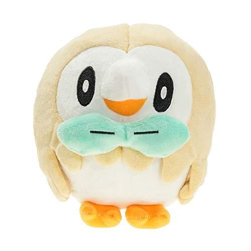 Spuik Bebé Niños calmante juguete lindo Elfos Bird muñeca estatuilla Peluche 20cm precioso Rowlet animado relleno de la felpa Figura Sofá cama coche amortiguador de la almohadilla Decoración de juguet