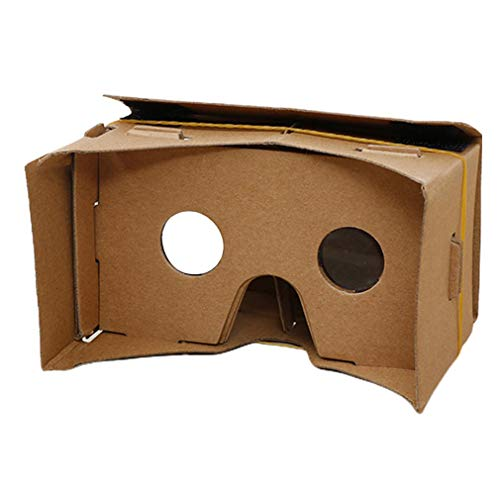Sensiabl 3D für Google Cardboard Glasses VR Virtual Reality für iPhone Handy Brown