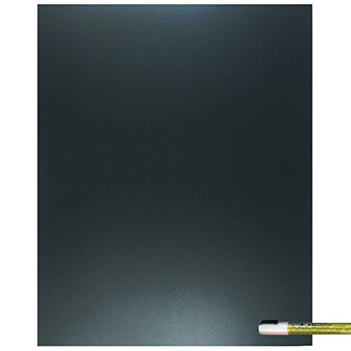 Cohas Eco Chalkboard Includes 1 Unframed Blackboard and Liquid Chalk Marker, 16 x 20 Inches Each, White Marker