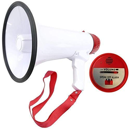LOUD PORTABLE MEGAPHONE L01 BLUE 10W 200M MAX PROJECTION