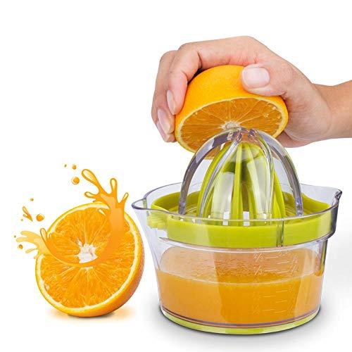 YEZINB Manuelle Saftpresse Zitrus Orange Zitronenpresse Tragbare Fruchtsaftpresse Maschine Stahlmühle Ei Seperator Küchenhelfer